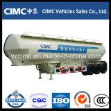 Cimc 3 Axle навальный цемента топливозаправщика трейлер Semi для сбывания