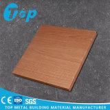 Panneau en bois de nid d'abeilles de fini de qualité pour le plafond et le mur de conteneur