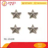 Qualidade personalizada de bronze Bronze decorativo Star Rivets