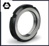 Écrou de blocage DIN981/noix insérée en nylon/noix encochée de clé d'écrou de blocage