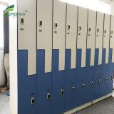 耐火性の装飾的なHPLのコンパクトの積層物のボードの貯蔵用ロッカー