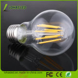 Ampoule superbe d'éclairage LED de filament de l'éclat E27 8W