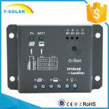 Regulador solar de la carga de la luz de la célula de batería del panel solar de PWM 12VDC y del regulador 5AMPS del temporizador