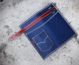 Signora Multi-Function Zipper Clutch Wallet come piccolo accessorio (BDX-171001)