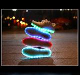 2016 het nieuwe LEIDENE van de Schoenen van de Manier van de Stijl Licht danst omhoog Volwassen Schoenen met Lichten