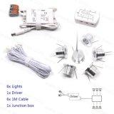 lâmpada do teto da luz do ponto do diodo emissor de luz de 1W 12V mini