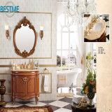 Freestanding классицистический шкаф зеркала ванной комнаты (BY-F8061)