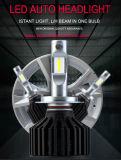 Lâmpada automotriz da conversão do farol do diodo emissor de luz do carro do farol 6500k do auto bulbo brilhante super da luz dianteira 9005