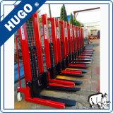 2ton 1.6m manueller Gabelstapler-manuelles Ladeplatten-Ablagefach