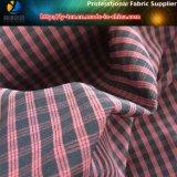Tessuto di Shirting dell'assegno del poliestere Y/D, tessuto di Polyester+Spandex (YD1200)