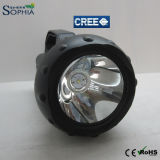 CREE recargable 15W LED de la linterna de Guidesman hecho en China