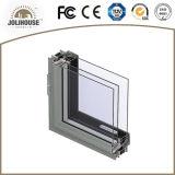 Ventana fija de aluminio modificada para requisitos particulares fabricación de China