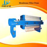 Hydraulische Programe controleerde de Horizontale Pers van de Membraanfilter