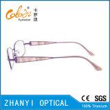 Blocco per grafici di titanio di vetro ottici di Eyewear del monocolo dell'ultimo Pieno-Blocco per grafici di disegno per la donna (9322)
