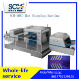 Web Fet Flat Bed cuir machine Hot Foil Stamping / gaufrage