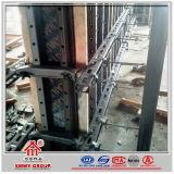 Encofrado de la columna de la pared de la fuerza que pela de la carga del concreto de acero