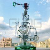 Tubo di acqua di vetro del riciclatore del quadrato del Hitman di Gldg con la bocca Detached