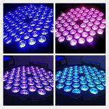 특색지어진 제품--부자와 가진 RGB3in1 54PCS*3W LED 훈장 동위 빛은 효력을 세척한다