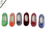 6つのカラー女性の屋内靴(RY-SS16034)