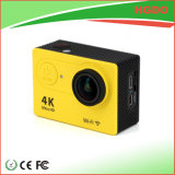 Appareil-photo 4k d'action de WiFi d'usine de la Chine mini