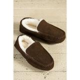 Тапочки Moccasin Brown вскользь ботинок людей неподдельной кожи