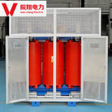 乾式の変圧器または電圧変圧器