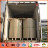 Bobine en aluminium d'enduit compétitif de PE de constructeur d'usine de la Chine en stock