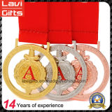 昇進の記念品のマラソンのフィニッシャーの金属メダル