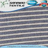 Ultimo tessuto del denim del Knit tinto di stile della saia di disegno filato