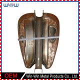 Réservoir de gaz de moto de pièces d'auto de fabrication en métal