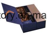 Rectángulo del conjunto del papel de rectángulo de regalo del papel de la cartulina de Bookshape