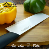 Productos de cocina de cerámica para Cleaver / cuchillo de Vegetagle con manija coloreada
