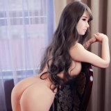 Juguetes de tamaño natural verdaderos del sexo del pecho de la muñeca el 160cm del sexo de la TPE del silicón de la muñeca grande suave del amor