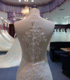 Elegantes Nixe-Hochzeits-Kleid mit Appliques
