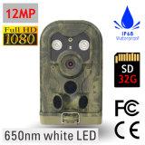 appareil-photo instantané blanc de journal de 12MP 1080P Digitals pour la surveillance sauvage de came de jeu de chasse