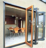 알루미늄 비스무트 접히는 문 또는 알루미늄 접게된 문 또는 다중 잎 문