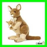 Giften van Kerstmis vulden het Dierlijke Speelgoed van de Pluche van de Kangoeroe van het Speelgoed van de Kangoeroe Zachte