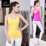 Reizvoller Backless Weste-Yoga-Trägershirt-Gymnastik-Tragbalken für Damen/Frauen