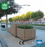 Contenitore esterno verde di fiore del materiale WPC