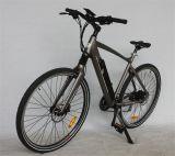 bicyclette électrique d'aluminium de montagne du bâti 250W de l'alliage 700c (JSL037G-8)