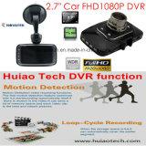 """安く2.7 """" HD1080p&720p車のカメラのデジタルビデオレコーダーのダッシュのカメラの組み込みGセンサー、120degree視野角、4G 1.3megaレンズ、4PCS LED車DVR-2727"""