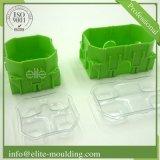 La plastica parte la lavorazione con utensili per Forgrener e lo stampaggio ad iniezione