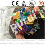 Plastica che lava riciclando macchina per il riciclaggio dei fiocchi residui della bottiglia dell'HDPE