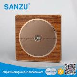 Interruptor y enchufe de madera del nuevo de la venta del diseño superior de la venta