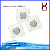 forti tasti magnetici permanenti di 20mm per gli schiocchi del magnete dei vestiti
