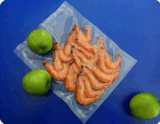 Rolo flexível plástico película tubular fundida Layflat transparente colorida de Coex
