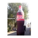 Frasco inflável da bebida da cola, modelo inflável das réplicas, anúncio de Inflatabl