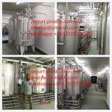 Terminar el yogur automático que procesa haciendo la cadena de producción (Shangai Jimei)