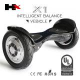 세륨 RoHS FCC 증명서 UL2272 Hoverboard를 가진 2wheel 각자 균형을 잡는 스쿠터
