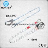 1.5-2m 100% Polyester-Fall-Schutz-Abzuglinie mit Haken oder Carabiner
